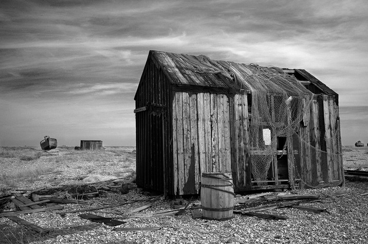 Fishing shed in Dungeness