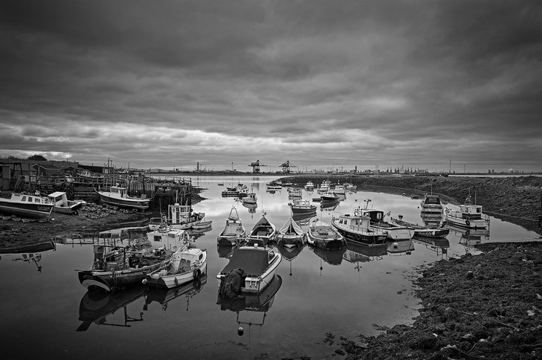 Paddys hole, South Gare Redcar