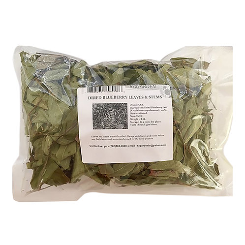 Blueberry, Dried Leaves, USDA Organic