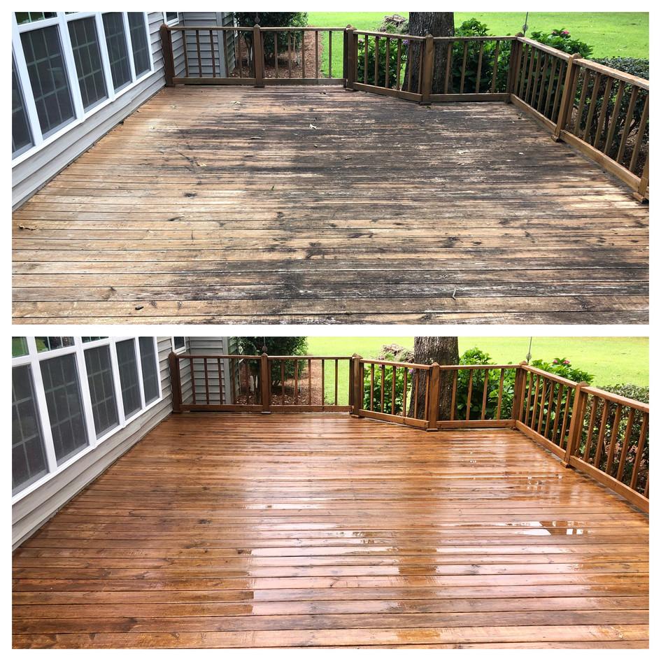 Wood Deck Cleaning Cochran GA