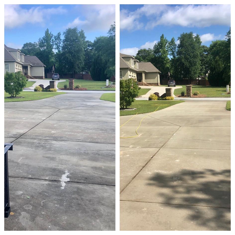 Driveway Cleaning Warner Robins GA