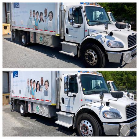 Fleet Truck Washing