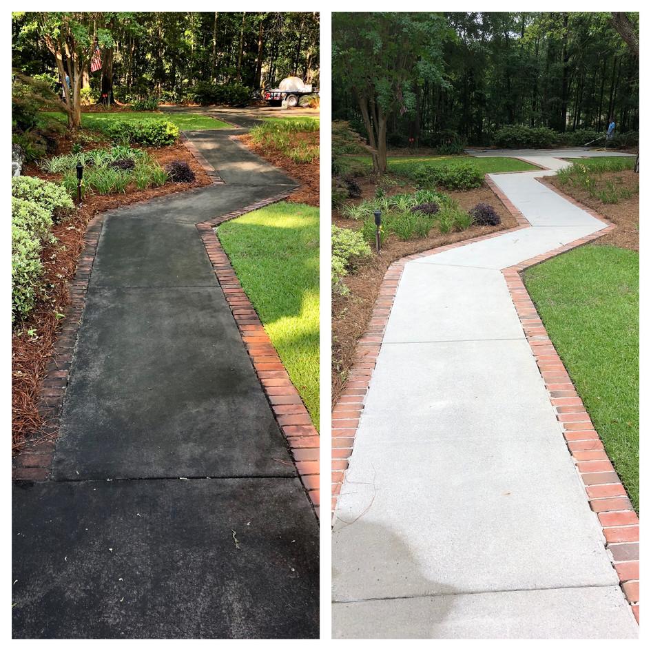 Sidewalk Cleaning Eastman, GA
