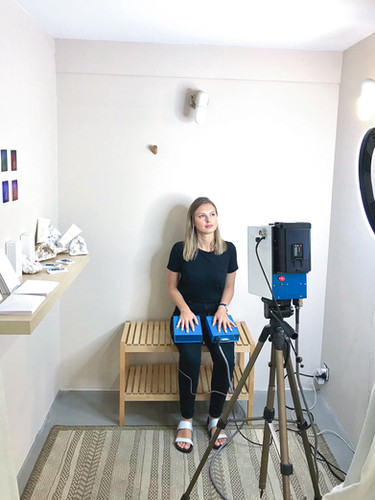 Aura Photography Setup at Naked Retail Group in Nolita in New York