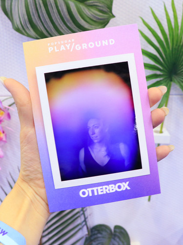 Aura Portal Aura Photo in New York for Otterbox Iphone cases company at Pop Sugar Playgraound