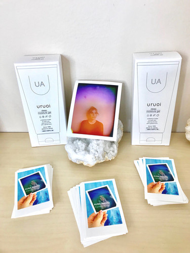 Uruoi Skincare Aura Photography Experience for Private Event Activation