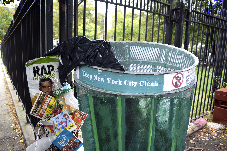 Trash Detail View