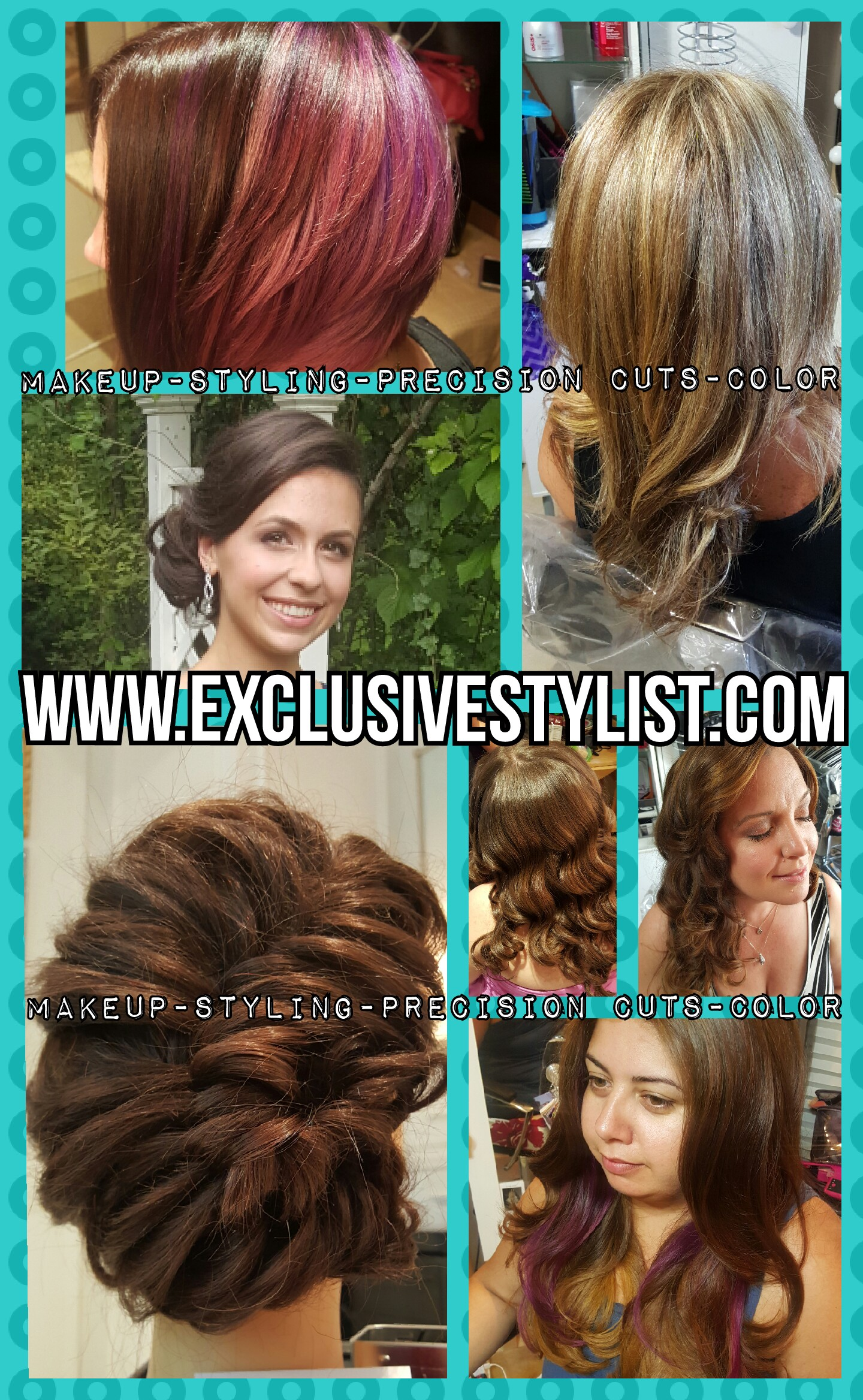 Updos & Makeup for All Formal Events