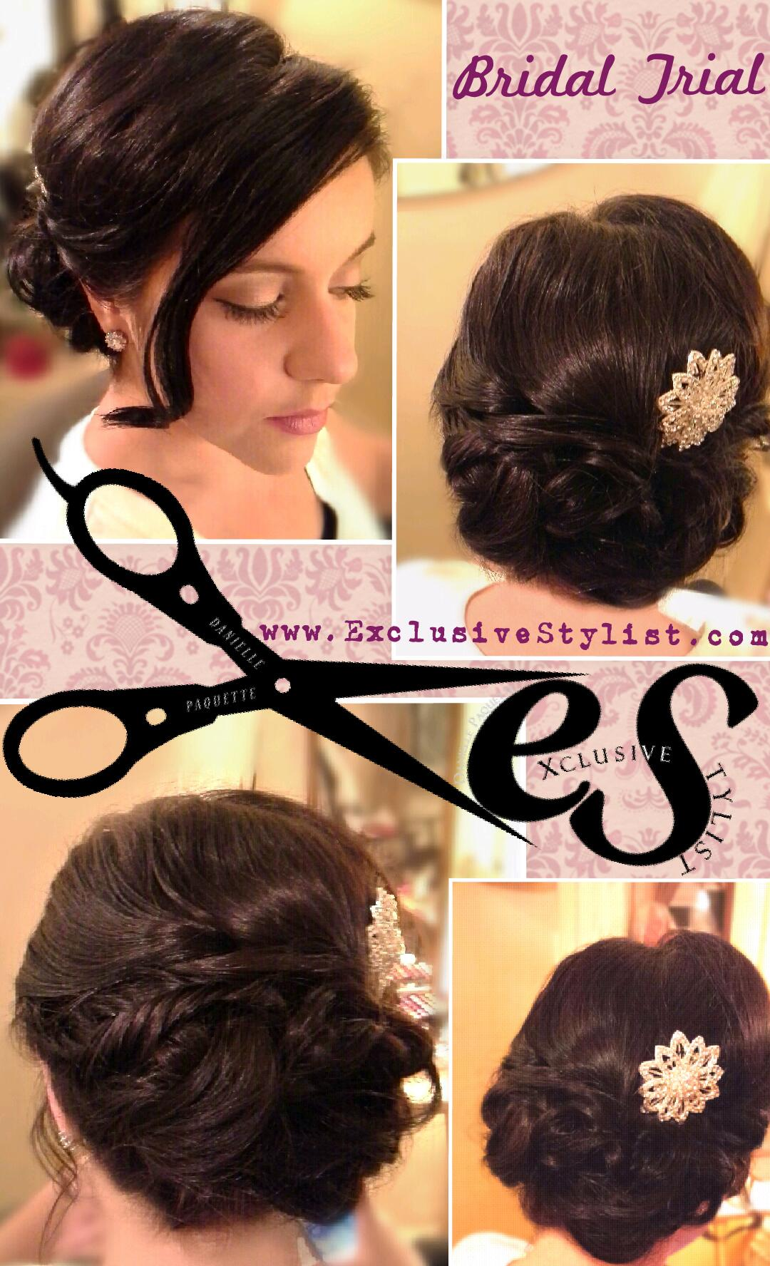 Bridal Trial for Amelia