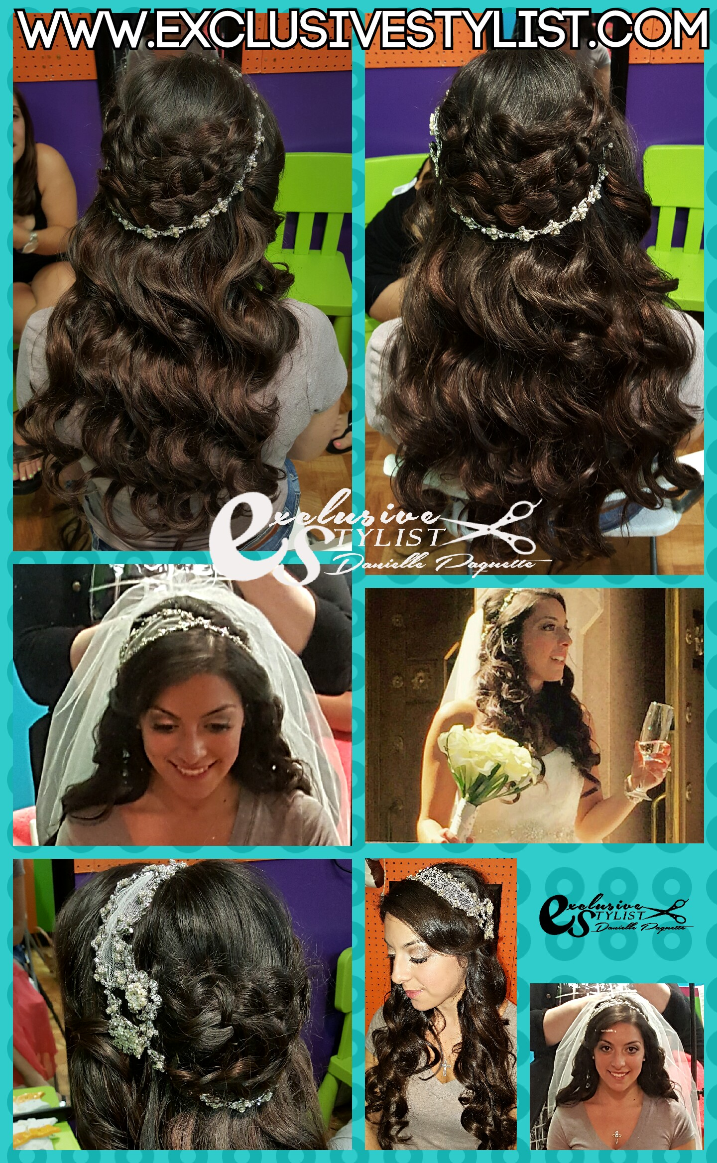 Bridal Trial for Vitere Wedding