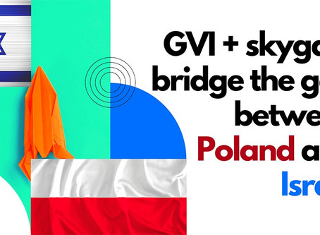 Post-COVID, Israel is closer to Europe than ever before, with GVI and skygate