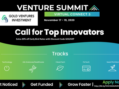 Virtual investment event  !!