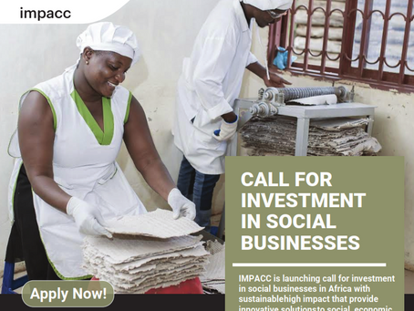 Are you an Impact-focused African entrepreneur?