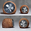 Thumbnail: Natural Rattan Table, Floor standing Fan in handwoven