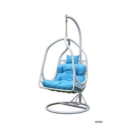 Stylish Hanging Egg Chair Swing for Indoor Outdoor Patio Backyard - NS66