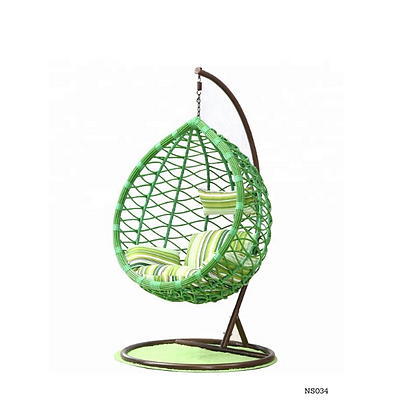 Handmade Rattan, Wicker Nest Egg Swing-NS34