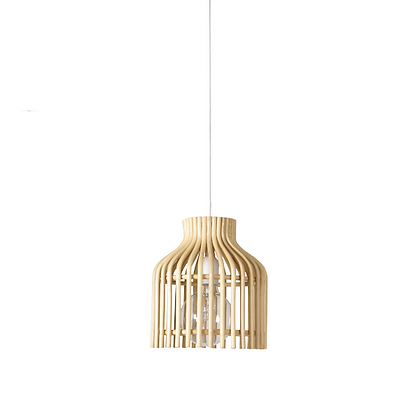 Handmade Natural Rattan Fire Fly Ceiling lamp light Small for Home, Hotel, Res
