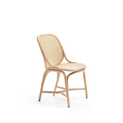 Handmade Natural Rattan Hubun Natural Dining Chair