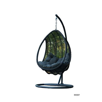 Handmade Wicker, Rattan Egg Tree Swing  - NS87