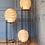 Thumbnail: Handmade Natural Rattan Fire Floor, floor Lamp for Home, Hotel, Restaurant