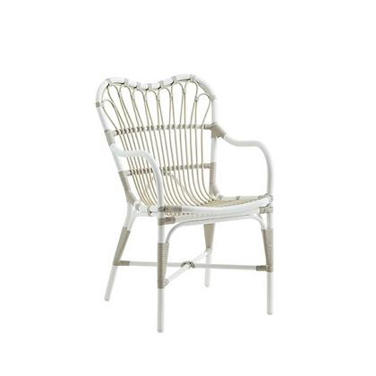 Handmade Wicker Orsola Waiola Arm Chair