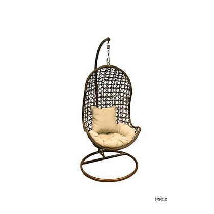 Handmade Rattan Hanging Egg Swing Chair - NS12