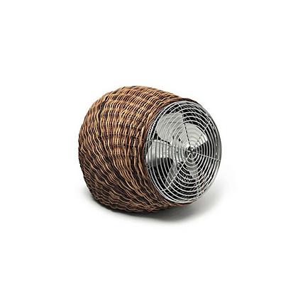 Natural Rattan Table, Floor standing Fan in handwoven