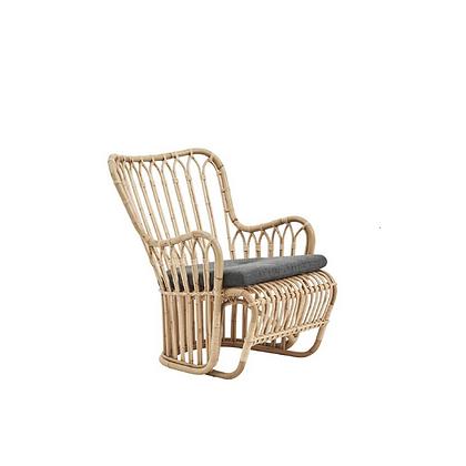 Handmade Natural Rattan Fillomena Arm Chair