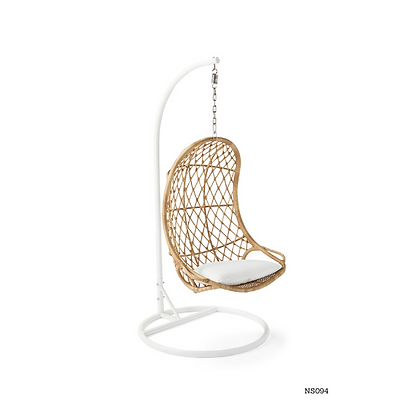 Handmade Rattan Rocking Swing Chair for Indoor and Outdoor- NS94