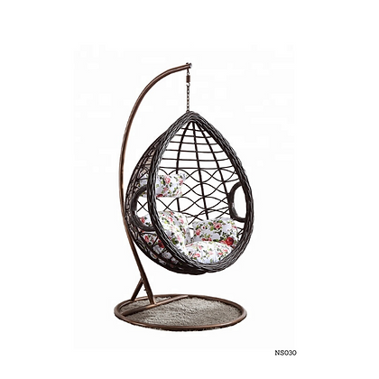 Handmade Rattan, Wicker Nest Egg Swing Chair-NS30