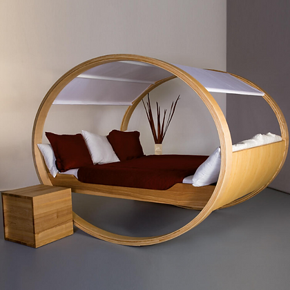 Handmade Wooden Private Cloud Bed Swing, Prime Design