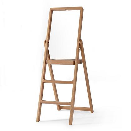 Handmade Wooden Foldable Step Stool, stepladder
