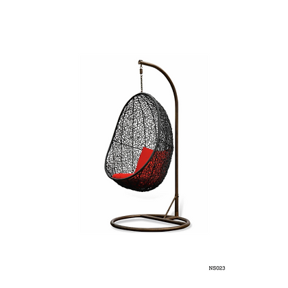 Handmade Rattan, Wicker Hanging Egg Swing Chair For Living Room-NS23