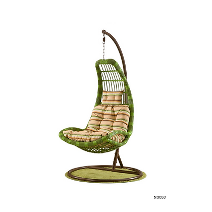 Handmade Modern Rattan Rocking Swing Chair for Small and Big Spaces - NS53