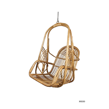 Handmade Rattan Hanging Chair For Balcony, Bedroom - NS150