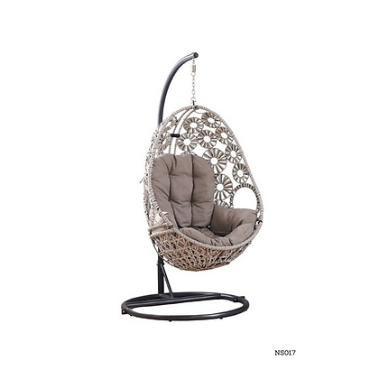 Handmade Rattan, Wicker Hanging Egg Swing Chair for Porch - NS17