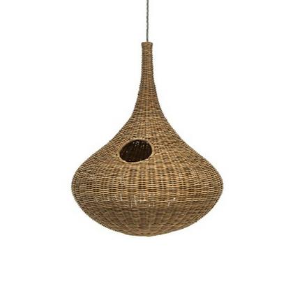Handmade Natural Rattan Bird Nest Lamp for Home, Hotel, Restaurant