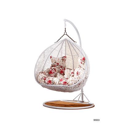 Handmade Patio, Rattan Hanging Swing Chair-NS03