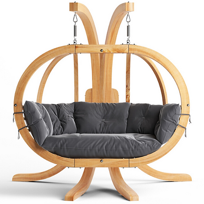 Handmade Wooden Globo Royal Holiday Swing, Prime Design