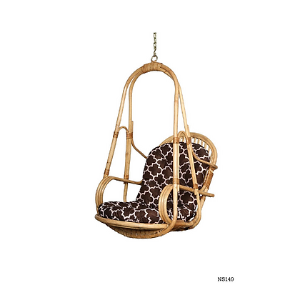 Handmade Rattan Hanging Chair For Home and Garden - NS149