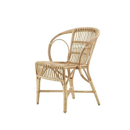 Handmade Natural Rattan Yaffa Arm Chair