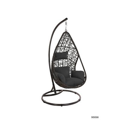 Handmade Rattan, Wicker Egg Swing Chair for Indoor, Outdoor  -NS98
