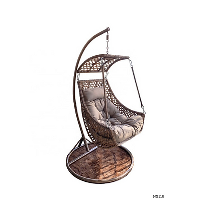 Handmade Rattan Hanging Swing Chair - NS116