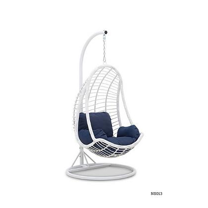 Handmade Rattan Hanging Egg Basket Swing Chair - NS13