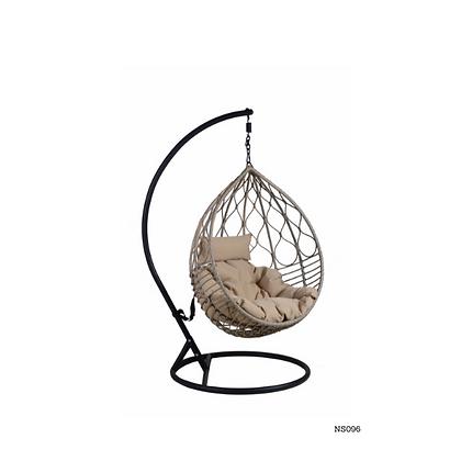 Handmade Rattan, Wicker Round Egg Swing Chair for Indoor, Outdoor  -NS96