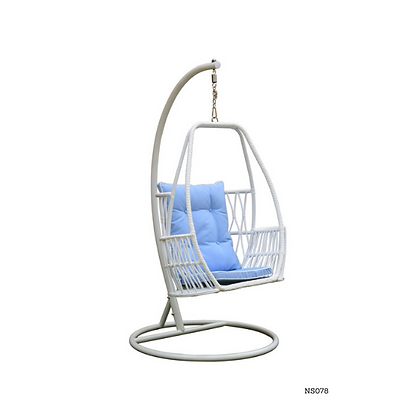 Handmade Natural Organic Rattan Hanging Swing Chair -NS78