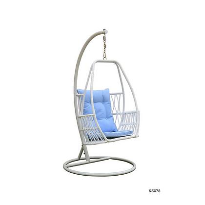 Handmade Natural Organic Rattan Hanging Swing Chair -NS78