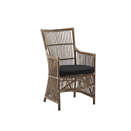 Handmade Natural Ianthe Ida Arm Chair
