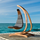 Thumbnail: Handmade Wooden Wave Lounge Swing Chair, Prime Design