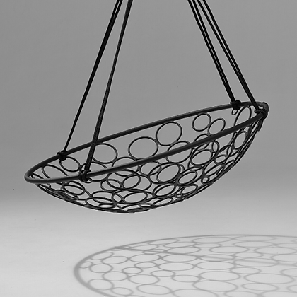 Handmade Metal Basket Circle Swing, Prime Design